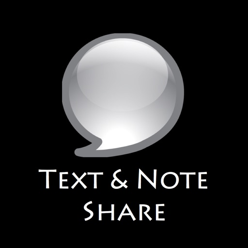 Text & Note Share - Bluetooth & Wi-Fi