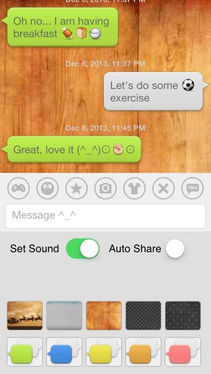 Aqua Emoji Keyboard – make emoticon smiley face in cute bubbles screenshot-3