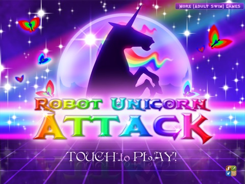 Robot Unicorn Attack на iPad