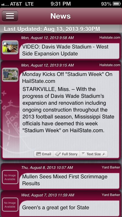 Mississippi State Football Live