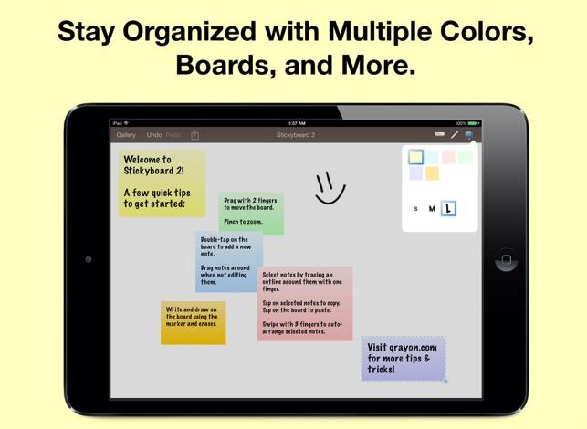 Stickyboard 2 Screenshot