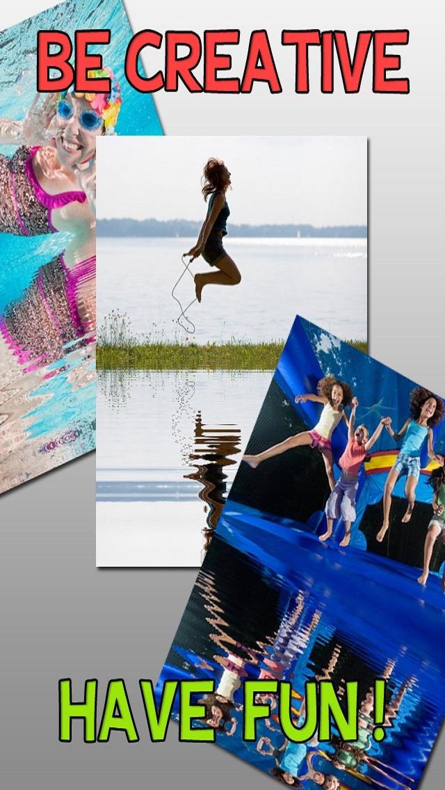 Water Photo Reflection for Tumblr,MSN,IG,FB,PS,KIK,POF