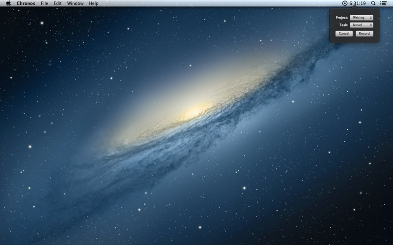 Chronos for Mac