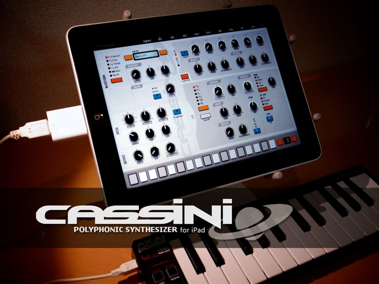 CASSINI Synthesizer for iPad screenshot-0