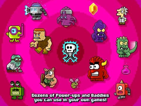 Sploder Arcade Creator для iPad