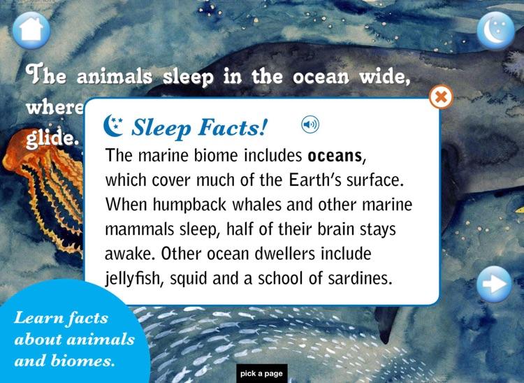 The Animals Sleep: A Bedtime Book of Biomes screenshot-3