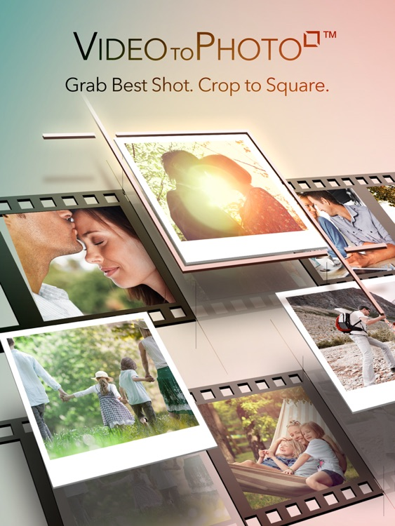 Video to Photo Square - Grab Still Photos from Video iPad Edition for Instagram