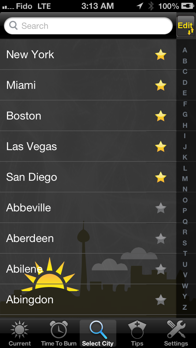 UV US - Weather Forecast, UV index and Alerts screenshot