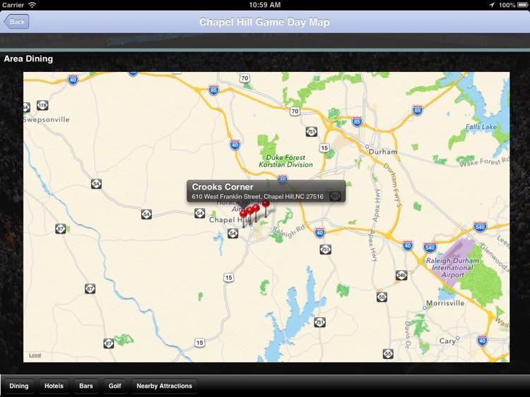 UNC Hoops Fan for iPad