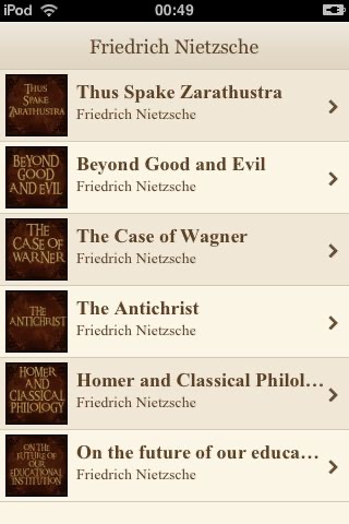 A Friedrich Nietzsche Collection screenshot-0