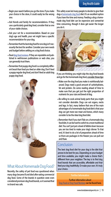 Sharda Bakers Dog World Magazine - Everything you need to know about the amazing world of dogs. screenshot-4