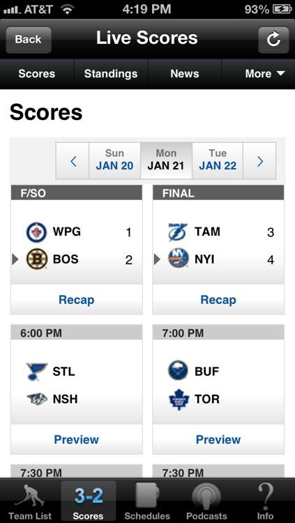 Hockey Radio & Live Scores + Highlights