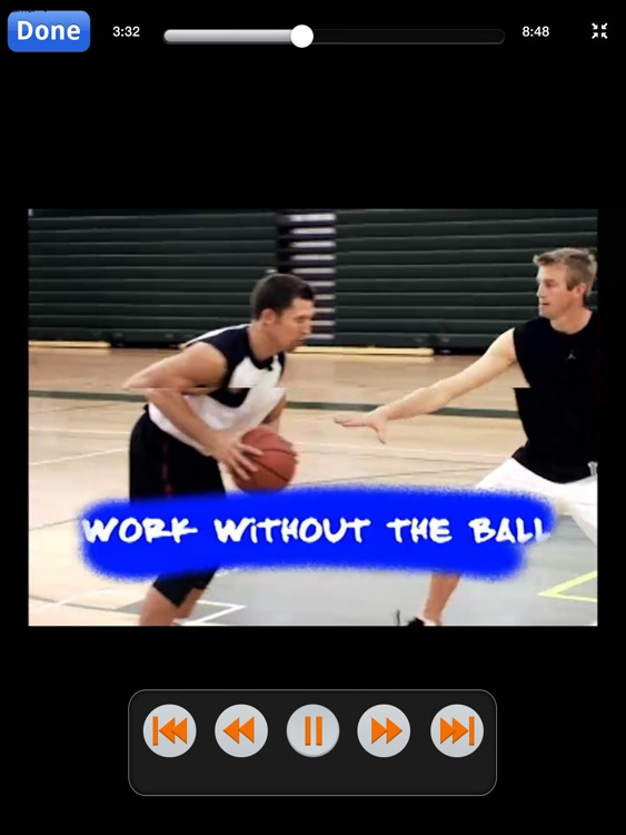 Unstoppable Offensive Moves: Volume 2 - Post & Interior Scoring Skills - With Ganon Baker - Full Court Basketball Training Instruction - XL screenshot-4