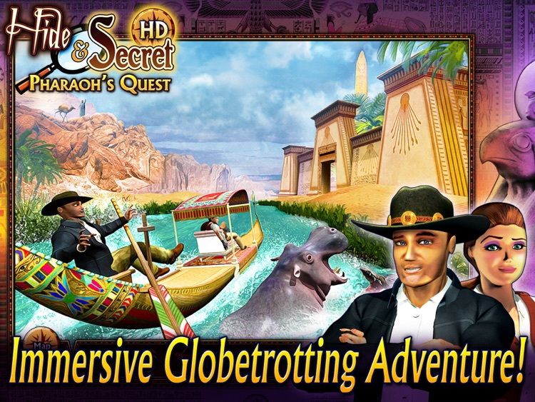 Hide and Secret: Pharaoh's Quest HD