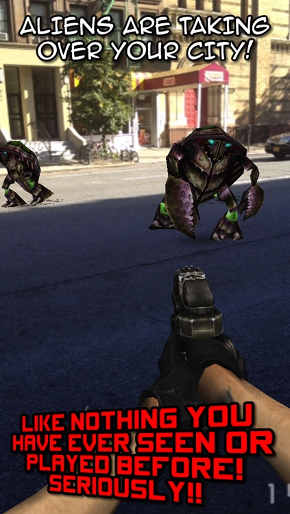 Aliens Everywhere! Augmented Reality Invaders from Space! screenshot-4