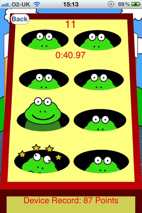Bash The Frog - Tap Game screenshot-3