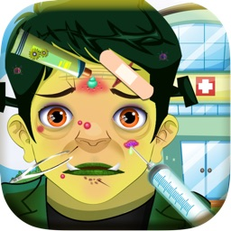Baby Monster Halloween Doctor Salon - crazy little nail spa & makeover games for kids (girls & boys)