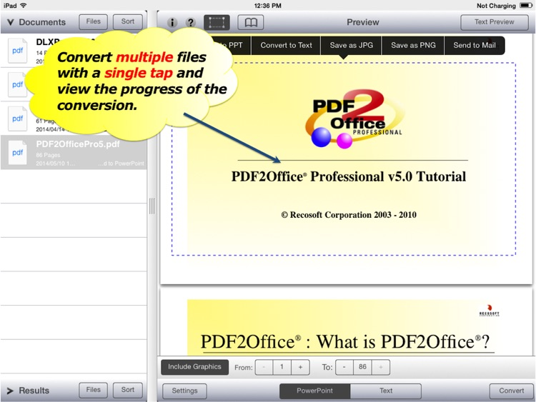PDF to PPT - PDF2Office 2017