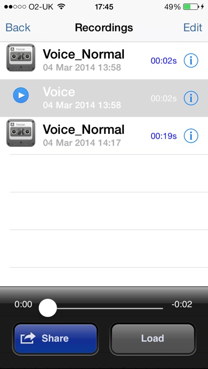Voice Changer Lite screenshot-3