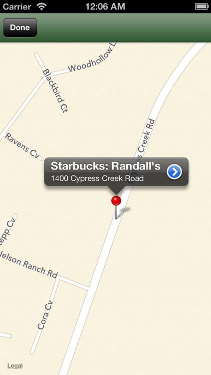 Find Nearest Starbucks screenshot-3