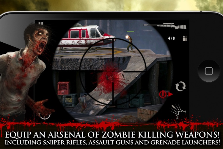 Contract Killer: Zombies screenshot-3