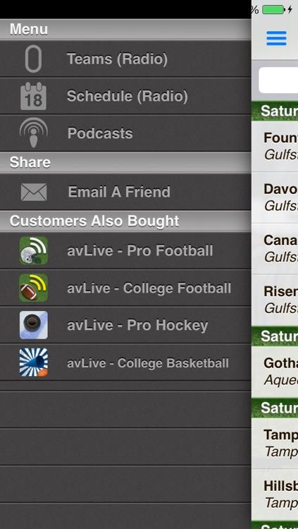 avLive - Horse Racing Radio screenshot-4