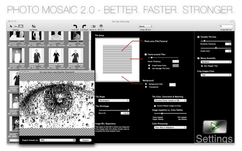 photomosaic Screenshot