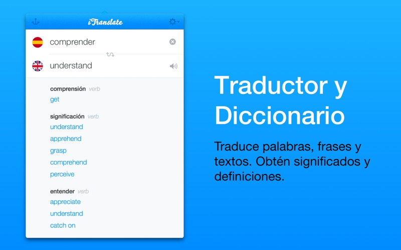 iTranslate - traductor & diccionario Screenshot