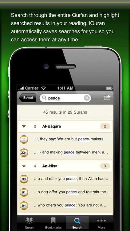 iQuran Lite screenshot-3