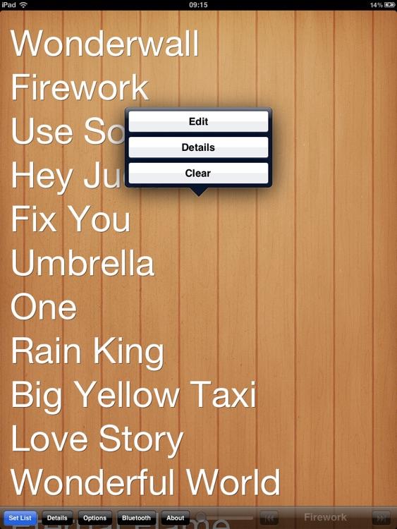 Set List HD