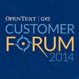GXS|OpenText Customer Forum 2014