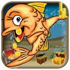 水族馆老虎机XP - 命中幸运金鱼:赢得大比率(趣味免费赌场游戏) icon