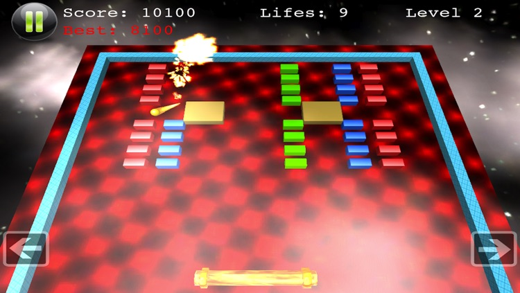 Block Smasher - Top Board Action Arcade Fun Brick Breaker 3D Breakout Free Game
