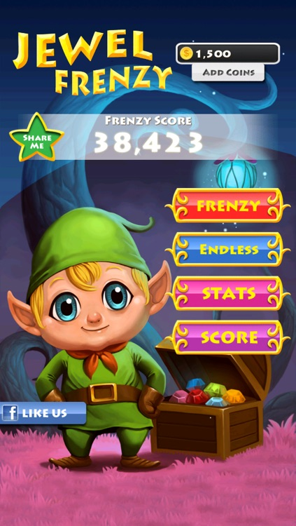 Jewel Frenzy screenshot-4