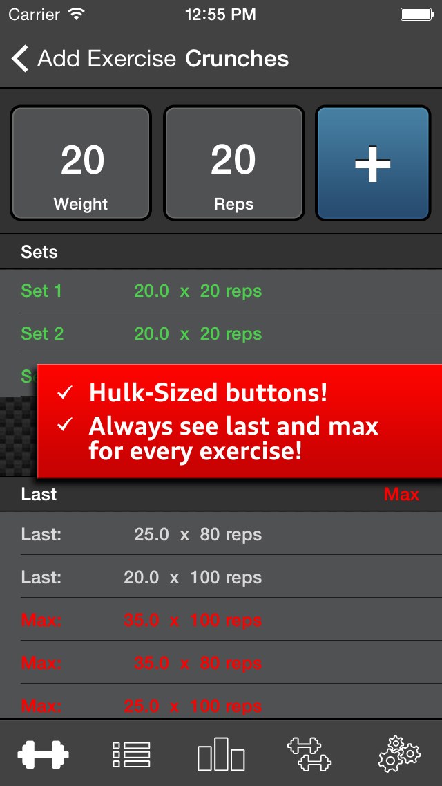 Gym Log Ultimate Pro - Plan and log workouts with the best fitness trackerのおすすめ画像2