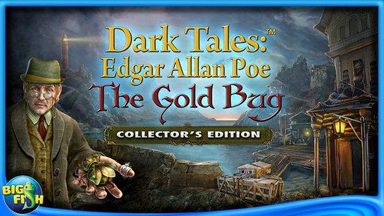 Edgar Allan Poe's The Gold Bug: Dark Tales - A Hidden Object Adventure screenshot-4