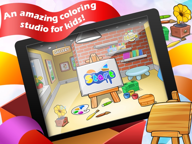 Amazing Coloring Studio for iPad
