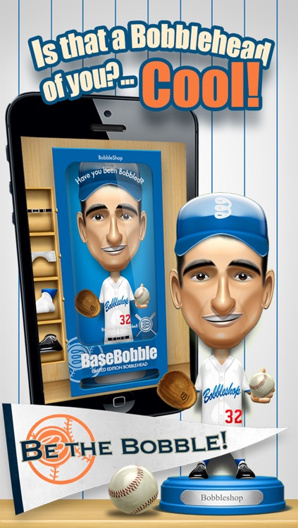 Basebobble - Bobblehead Avatar Maker App for Baseball from Bobbleshop screenshot-1