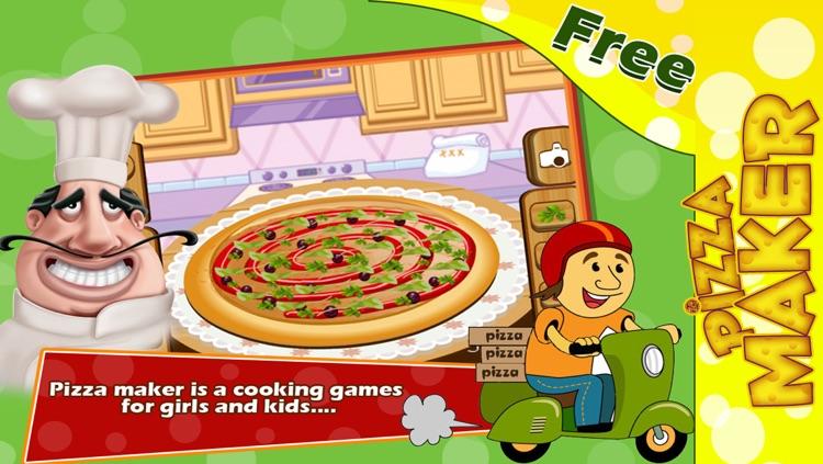 Pizza Maker :  Baby Pizza Maker Salon