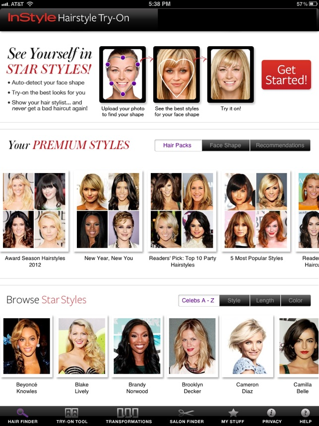 InStyle Hairstyle Try-On on the App Store