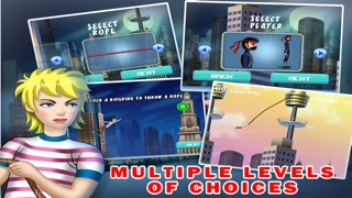 City Spider Swing-ing Free : Cool addictive world surfers