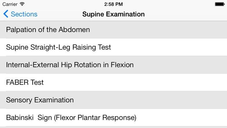 Musculoskeletal Exam-Spine screenshot-1