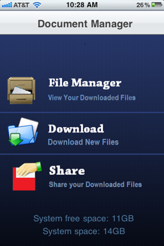 File Manager. screenshot 1