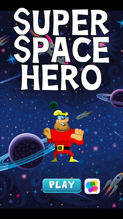 A super-hero in space – action jumping game from another galaxy with heroes
