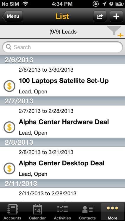 SAP Sales Manager screenshot-4