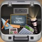 工具箱 - 手电筒,计算器,汇率转换,单位换算,尺子 icon