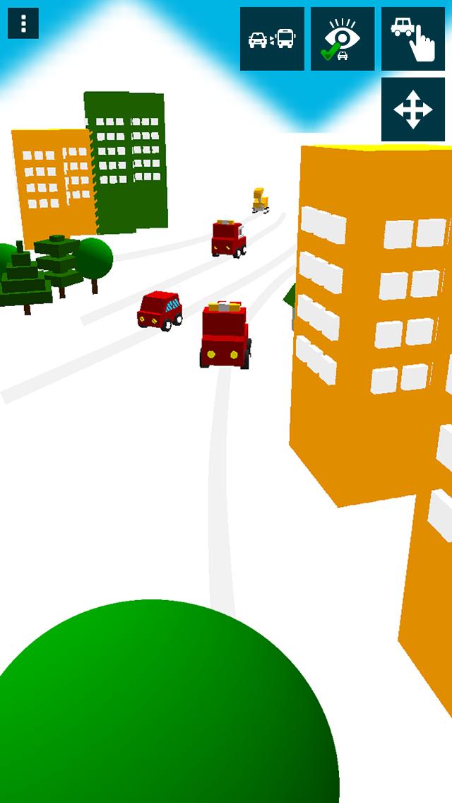 さわって走る!はたらく車(幼児向け) - 無料知育アプリ ScreenShot3