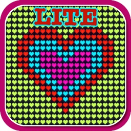 Glow Neon Heart Lights Lite