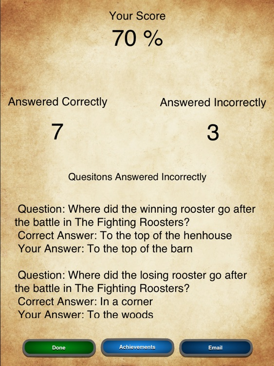 Reading Comprehension: Fable Edition screenshot-3