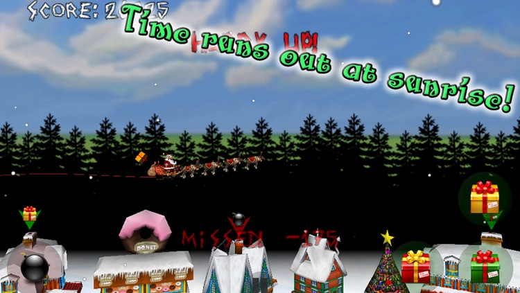 Christmas Run! Angry Santa's Revenge! screenshot-3